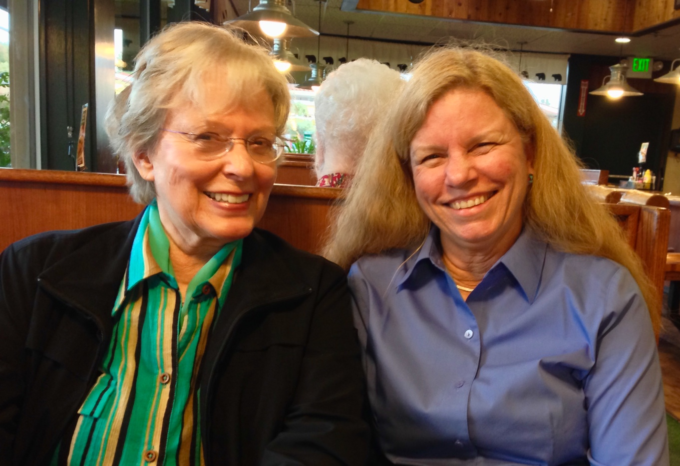Carol Rosenberger And Kathline Colvin